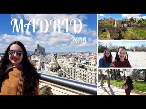 Vlog 5 DIAS EM MADRID E TOLEDO + HARRY STYLES...😀😍