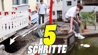 GEHE 5 SCHRITTE VORWÄRTS 😩 (Challenge)