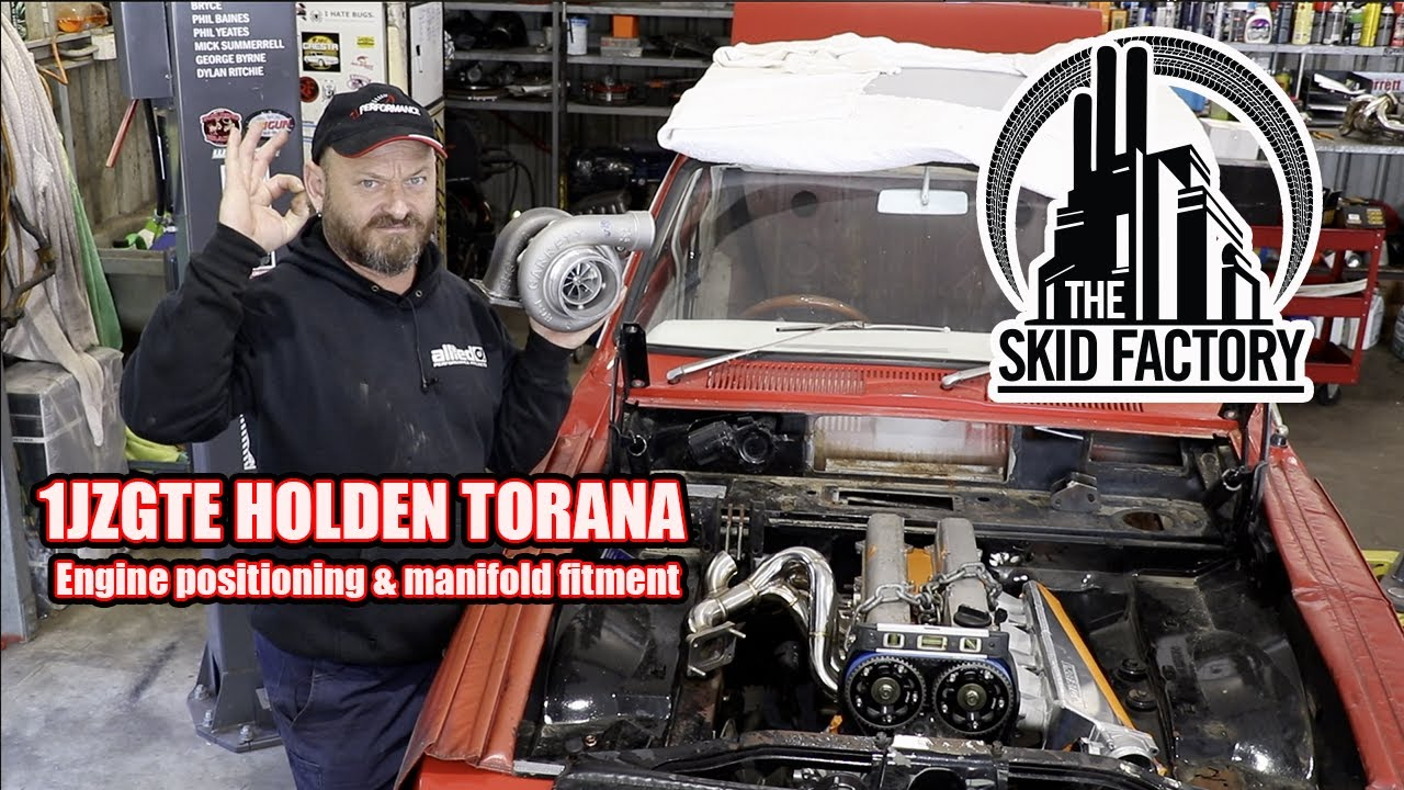 1JZGTE POWERED LJ HOLDEN TORANA EP 2 - THE SKID FACTORY