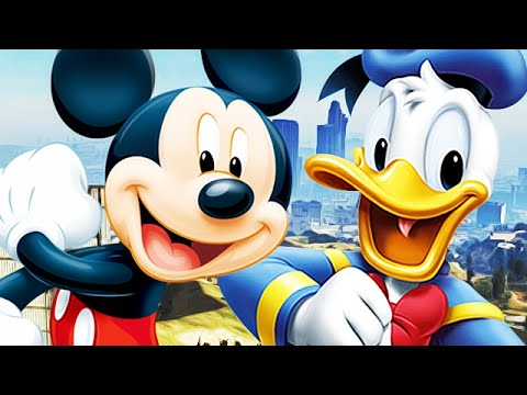 Mickey Mouse  Donald Duck play GTA 5  Funny Voice TROLLING