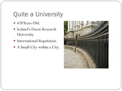 Political Science  - Trinity Open Day 2013