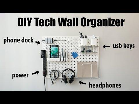 DIY Tech Wall