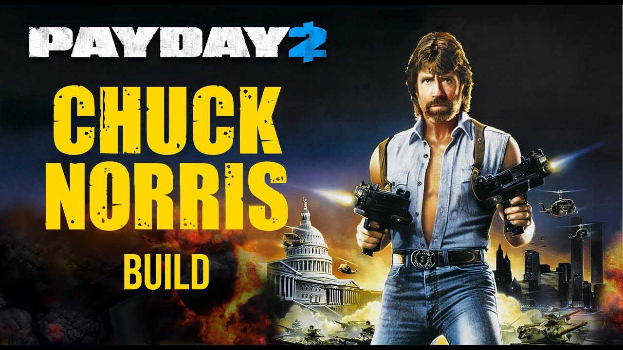 payday 2 akimbo micro uzi chuck norris build one down. Black Bedroom Furniture Sets. Home Design Ideas