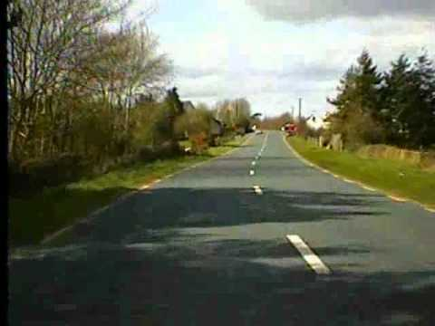 Road trip from Bunclody Co. Wexford to Carlow Town