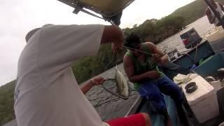 Fishing off Patos Island, Trinidad, West Indies