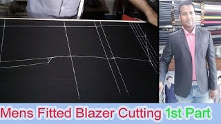 ►  Men's Fitting Blazer Cutting Easy Method | Blazer Cutting  1st Part | OBSESS Tailors