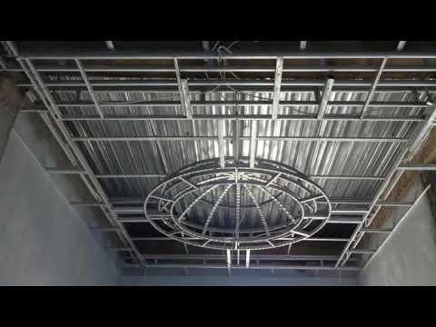 memasang plafon baja ringan inilah cara rangka youtube