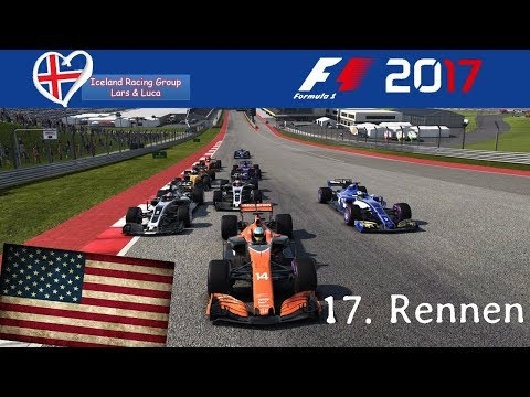 F1 2017 - Iceland-Racing-Group - Liga - 17. Rennen - USA