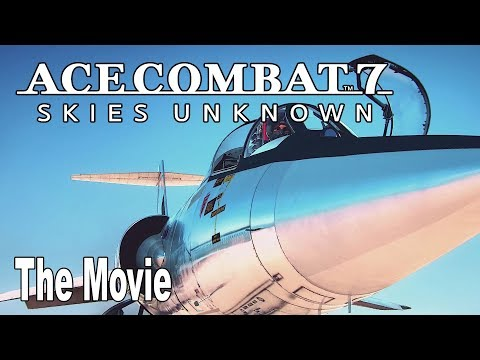 Ace Combat 7: Skies Unknown - The Movie All Cutscenes [HD 1080P]