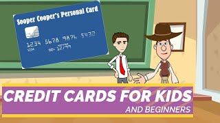 Credit Cards 101: Wнat is a Credit Card? Easy Peasy Finance for Kids and Beginners