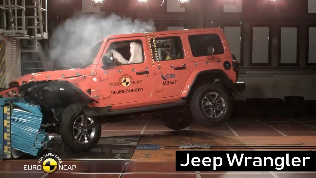 Jeep Wrangler Crash Test Euro Ncap