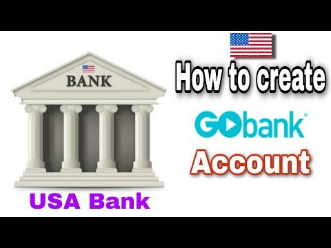 How To Create USA Virtual Bank Account. GoBank.
