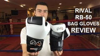 Rival RB50 Bag Boxing Gloves Review by ratethisgear
