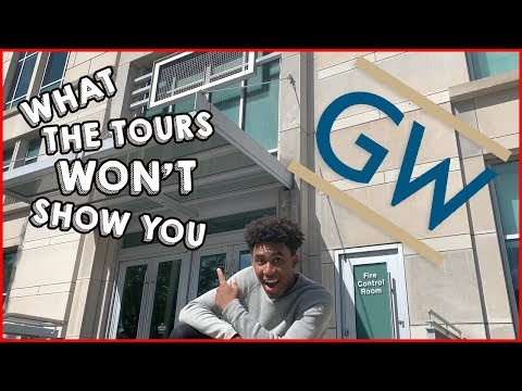 WHAT GWU COLLEGE TOURS WON'T SHOW YOU (DORMS, GYM, & MORE)
