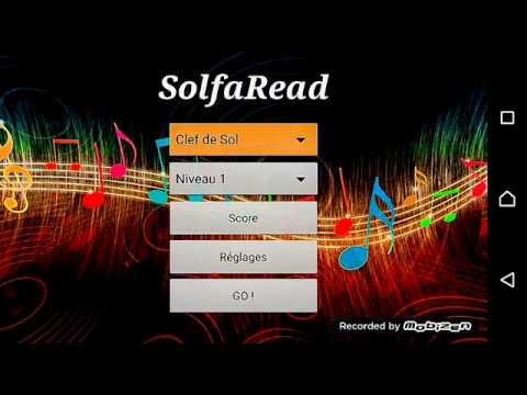 Solfaread Android music app