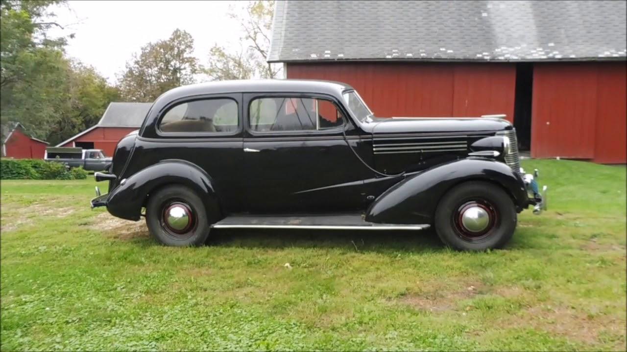 1938 Chevrolet Master 2 Door Sedan