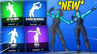 *NEW* Fortnite Season 5 DANCES IN REAL LIFE LEAKED! (Hula, Twist, Flippin' Incredible, On The Hook)