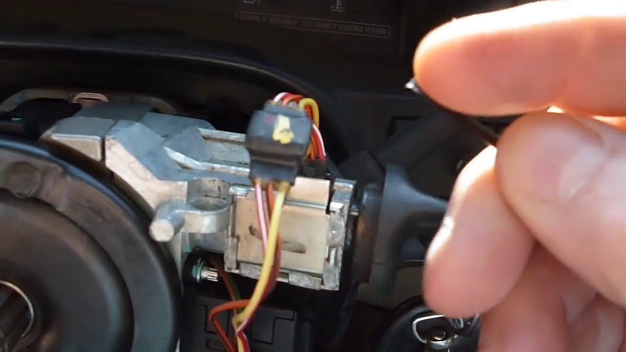 hight resolution of gmc chevy no start security wire go check out my fix vid youtube 99 3500 security wire diagram