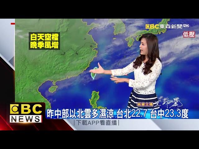 氣象時間 1071211 早安氣象 東森新聞