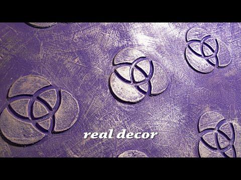 Декоративная штукатурка из шпаклевки - сделай сам, просто и оригинально!