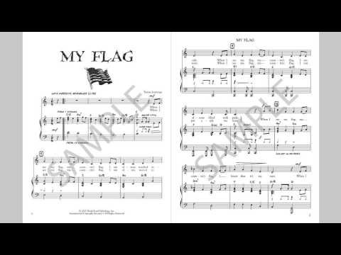 My Flag - MusicK8.com Singles Reproducible Kit