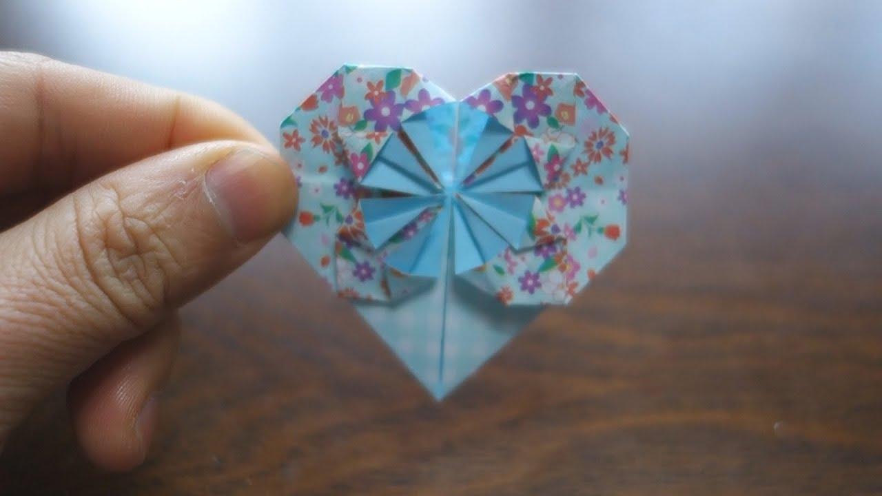 Origami Tie Heart