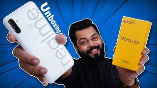 realme Narzo 10A Unboxing And First Impressions ⚡⚡⚡ Best Gaming Phone Under 10K???