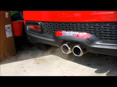2012 Mini Cooper S Resonator delete.