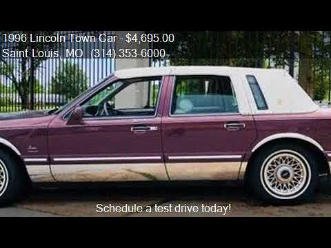 1996 Lincoln Town Car Executive 4dr Sedan For Sale In Saint Youtube