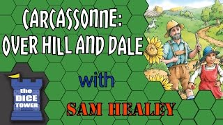Carcassonne: Over Hill and Dale Review - with Sam Healey