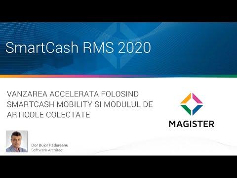 Vanzarea accelerata folosind aplicatia SmartCash Mobility si modulul de articole colectate