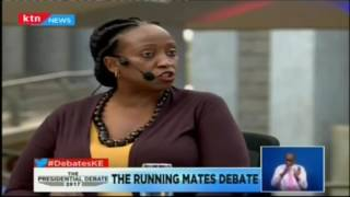 """""""If President Uhuru doesn't come we will judge him on that..."""": Daisy Amdany-political Commentator"""