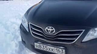 Toyota Camry   проверка автомобиля толщинометром.