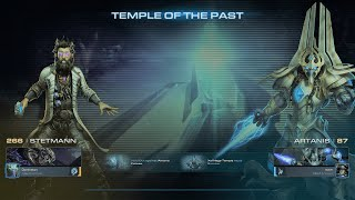 StarCraft II Brutal STETMANN COOP ARTANIS Tample of The Past