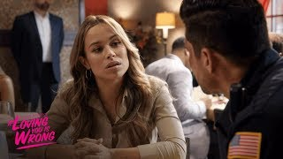 Esperanza Tries to Make Peace with Eddie   Tyler Perry's If Loving You Is Wrong   OWN
