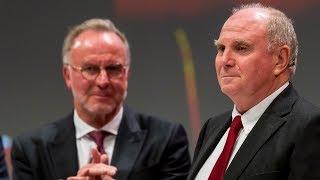 """""""Ich habe fertig! Danke!"""" - Uli Hoeneß' letzte Rede als Präsident des FC Bayern"""