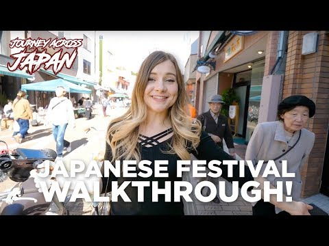 Explore a Japanese Countryside Festival with Sharla in Japan!  [Journey Across Japan Spinoff] thumbnail