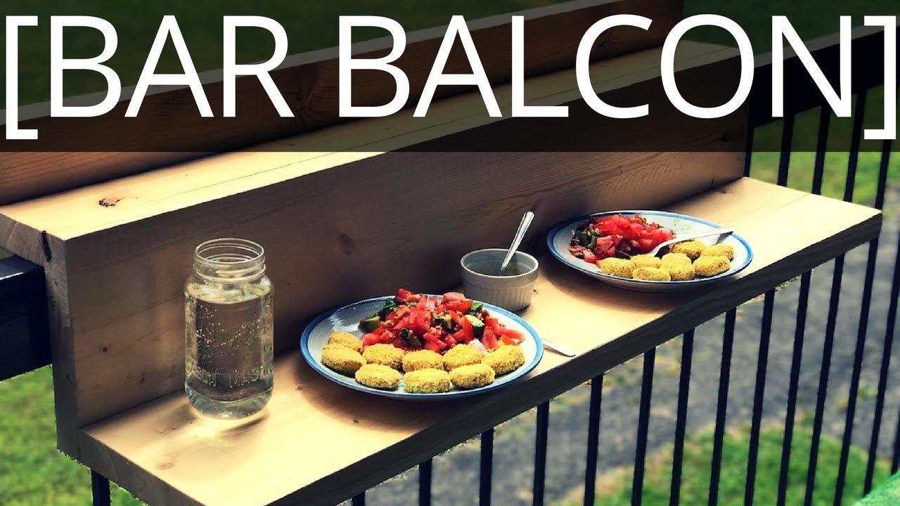 Top comment faire un bar pour balcon suspendu ep with - Fabriquer bar cuisine ...
