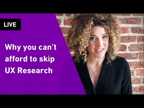 Why you can't afford to skip User Research | Sarah Doody, User Experience Designer