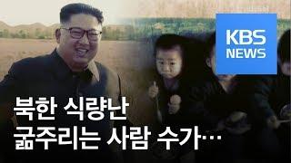 """[클로즈업 북한] 식량난 '심각'…""""천만 명 굶주린다"""" / KBS뉴스(News)"""