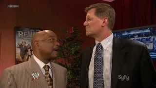 WWE SmackDown Teddy Long vs. John Laurinaitis 09.03.2012.русс,озв от 545TV