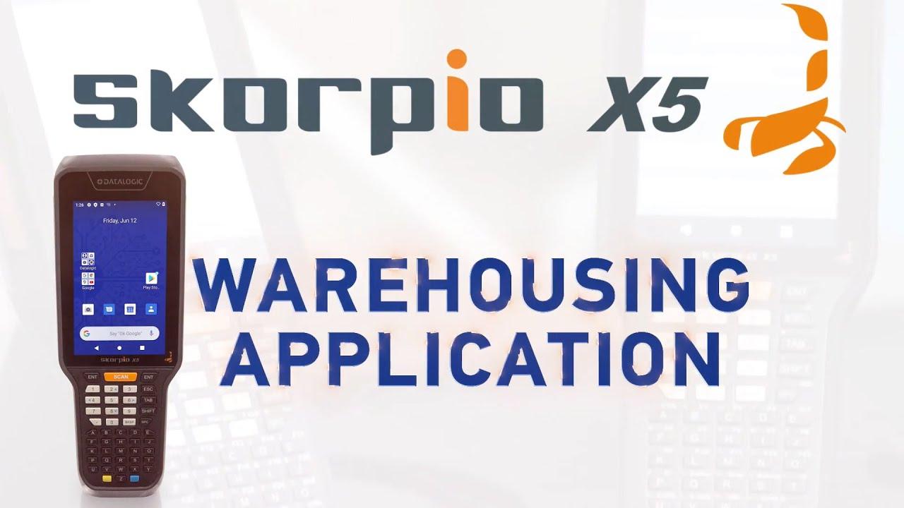 Datalogic Skorpio X5 - Warehouse Ready