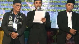 sambutan Panitia Maulud Nabi Muhamad SAW. 1437 Ds Rawapanjang