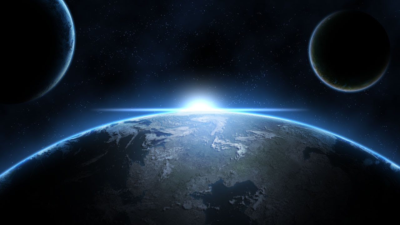 Earth At Night 3d Live Wallpaper Photoshop Space Tutorial Planets Stars Glows Youtube