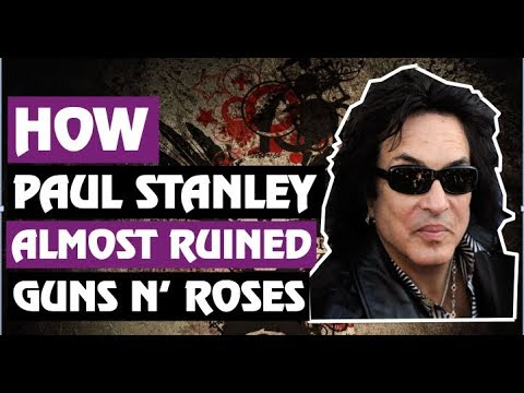 2f2ea4b9f224 Guns N  Roses  How Paul Stanley Almost Produced GNR   Feuded With Slash!