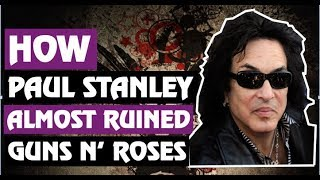Guns N' Roses: How Paul Stanley Almost Produced GNR & Feuded With Slash!