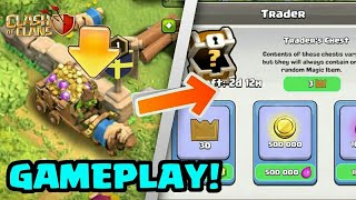 OMG😲😲😲 BIGGEST UPDATE OF CLASH OF CLANS HISTORY NEW TROOPS,NEW MAGIC ITEMS AND A TRADER FOR DEALS