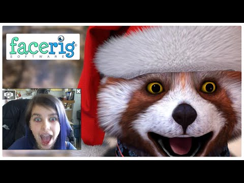 FaceRig | Playing Around & Having Fun! | RadioJH Audrey | HAPPY HOLIDAYS!