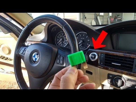 IGNITION SWITCH FUSE LOCATION BMW E90 E92 E91 E93  ENGINE START STOP