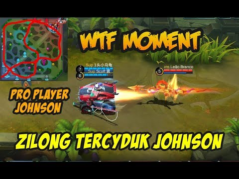 Zilong Tercyduk Johnson Bikin Ngakak Asli Pro Banget Player Johnson nya